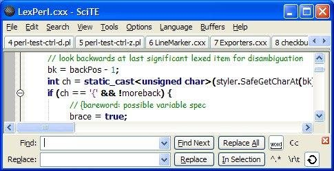 How To Use Scite Editor In Windows
