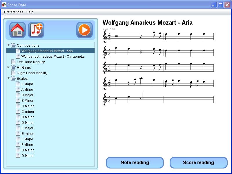 ScoreDate download | SourceForge net