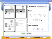 Clefs and notes selection - Windows