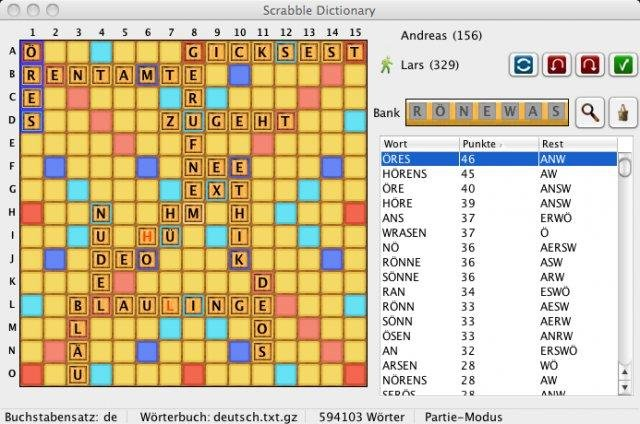 online scrabble deutsch