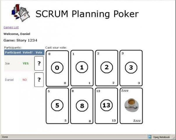 scrum planning poker download sourceforgenet