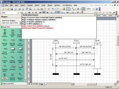 MSC drawing in Microsoft Visio