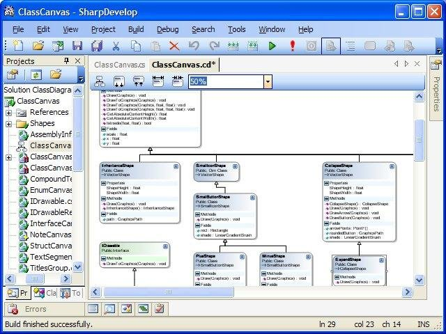 Sharpdevelop class diagram download sourceforge the addin in action inside sharpdevelop ccuart Images