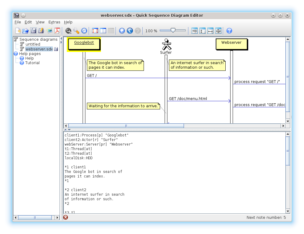Quick sequence diagram editor download sourceforge version 42 ccuart Images