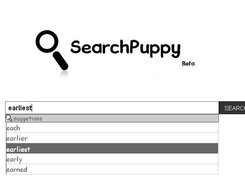 When keep pointer on suggetion auto set suggetion to searchbox