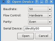 Device Dialog (Version 0.1)