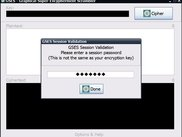 GSES start - requesting a session password