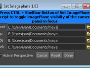 Set Imageplane/  toggle Imageplane