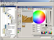 Main window and graphics editor