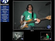 Photo gallery created with shalbum on my brother's band site