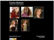 Result of running shalbum on a dir full of Emma Watson pics
