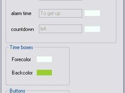 Customize the user interface by changing colors