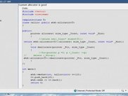 A painted code posted in cboard.cprogramming.com forum