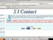 Snapshot of the home page of SIContact software