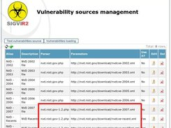 SIGVI R2, Sources definition to get vulnerabilities