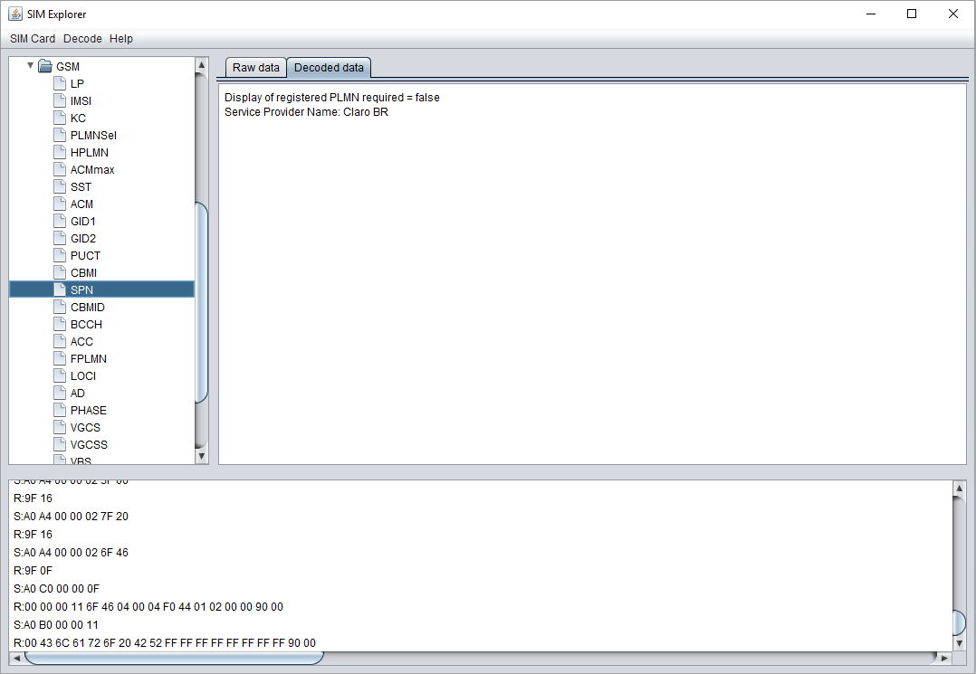 SIM Explorer download   SourceForge net
