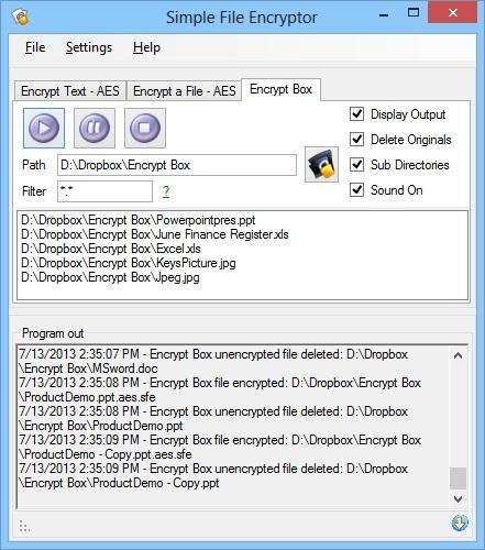 Simple File Encryptor - for Windows download | SourceForge net