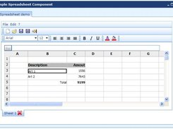 Simple Javascript Spreadsheet download | SourceForge net