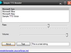 Simple TTS Reader download | SourceForge net