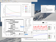 SimThyr 3.1 on Linux (openSUSE): Sensitivity analysis with tornado plot