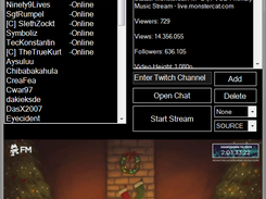 Twitch Dashboard Programm