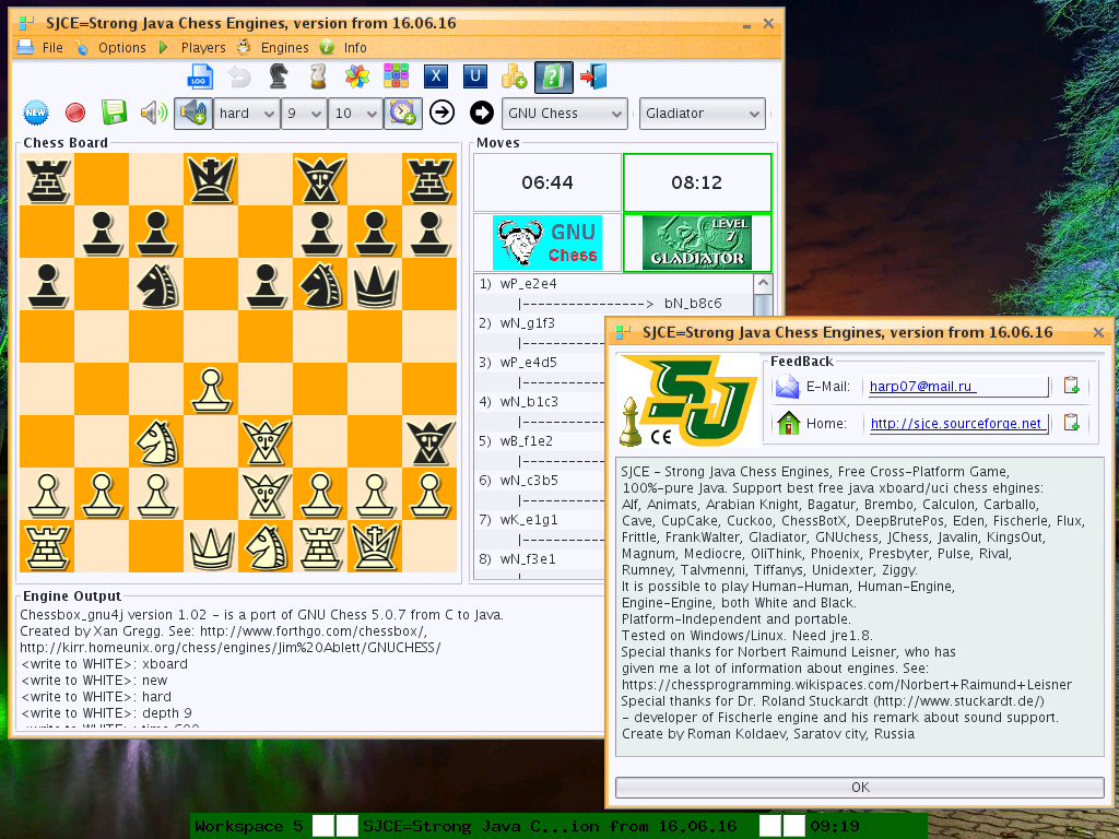 Strong Java Chess Engines Game download | SourceForge net