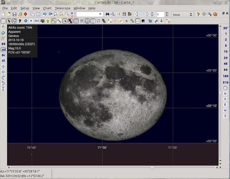 SkyChart screenshot