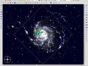 M101 with Virtual Observatory data
