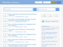 Skymbu Question and Answer Script download   SourceForge net