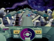 Screenshot of the original Skyroads by Bluemoon