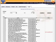 SmoothWall Express 3.0 - E-Mail Log Viewer