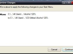 Review changes dialog