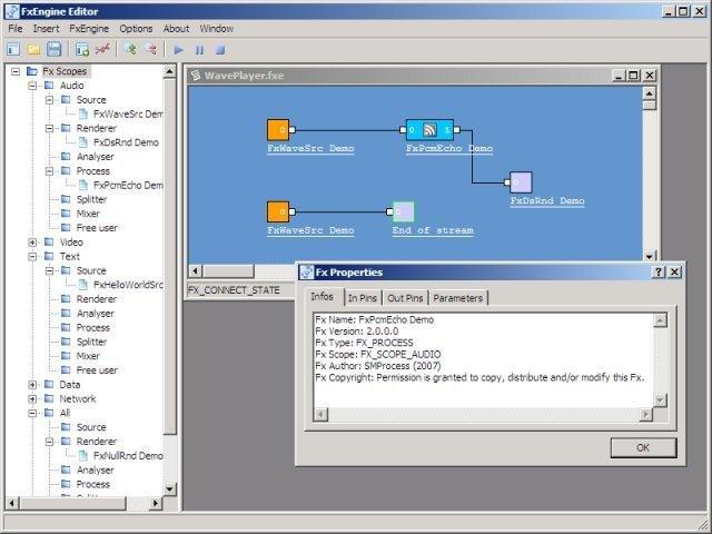 FxEngine Framework screenshot