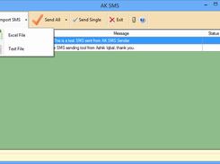 AK SMS Sender download | SourceForge net