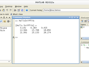 All commands saved in HelloSnifflib.m script run in batch in MATLAB session.