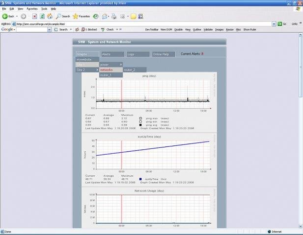System and Network Monitor download | SourceForge net