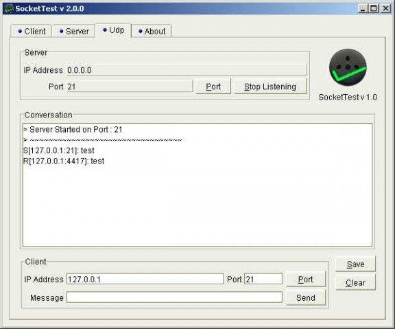 SocketTest - Test My Socket download | SourceForge net