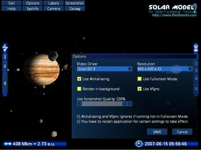 Real-Time Solar System 3D (page 4) - Pics about space