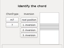 Chord exercise.