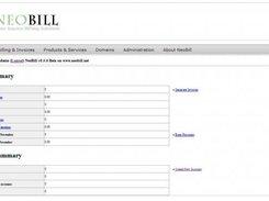 NeoBill download   SourceForge net