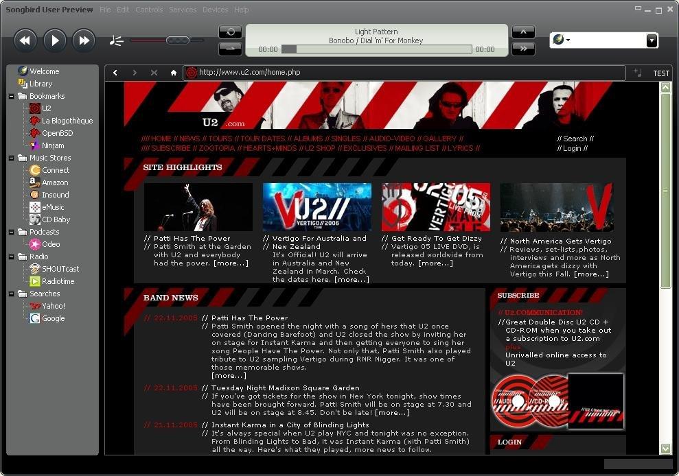 Songbird download | SourceForge net