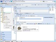 2. WebTop Groupware - Windows Blue Theme