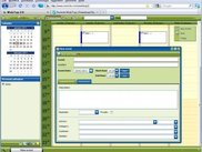 3. WebTop Groupware - Mozilla Blue and Greeen Theme