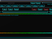 A picture of the new presets interface.
