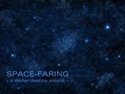 Space-Faring preliminary splash screen