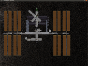 Preview of how docking to the ISS will look - interface to the AR.Drone is not complete though