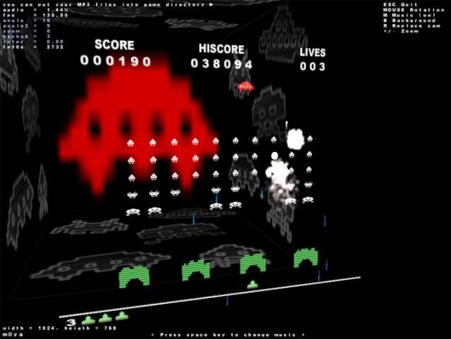 Space Invaders OpenGL download | SourceForge net