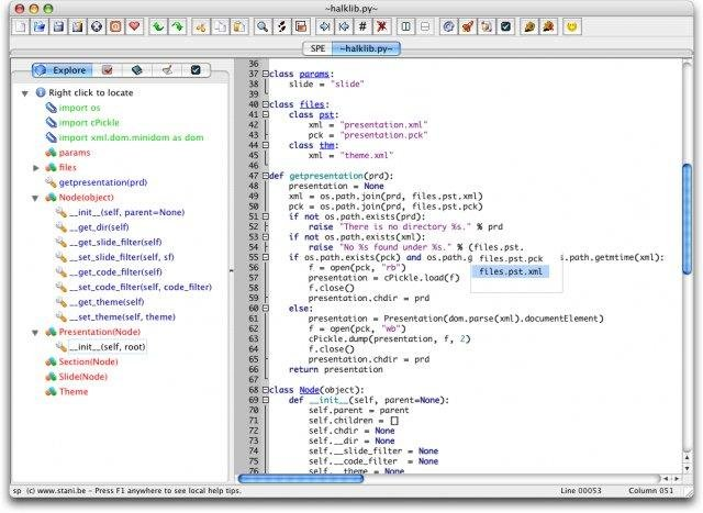 Stani's Python Editor download | SourceForge net