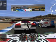 2 - Race screen : On-board LS-GT1 at Corkscrew
