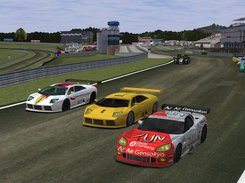 4 - LS-GT1 cars at Brondehach